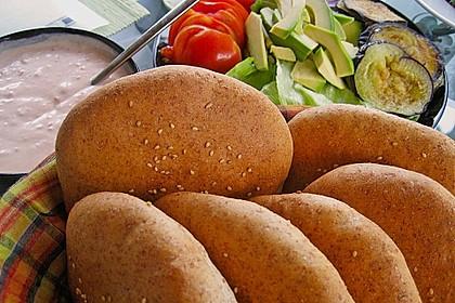 Brötchen für Hamburger 90