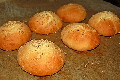 Brötchen für Hamburger 17