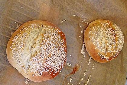 Brötchen für Hamburger 124