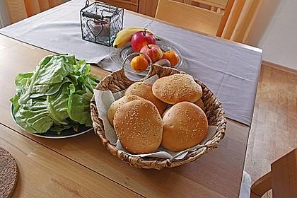 Brötchen für Hamburger 64