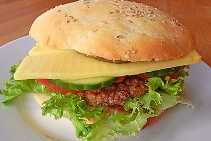 Brötchen für Hamburger 3