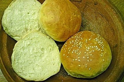 Brötchen für Hamburger 160