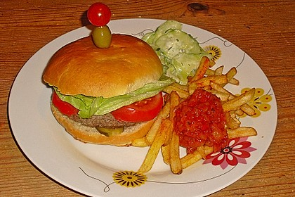 Brötchen für Hamburger 60