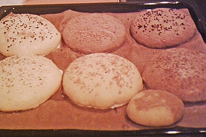 Brötchen für Hamburger 185