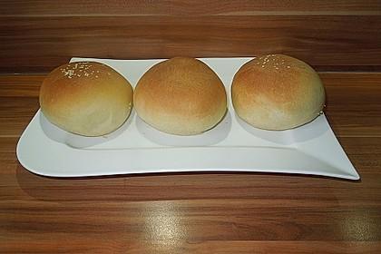 Brötchen für Hamburger 8