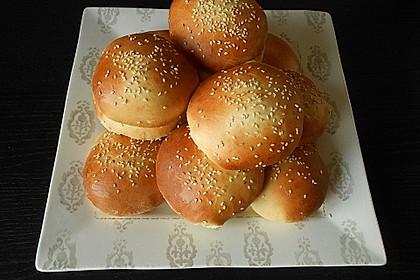 Brötchen für Hamburger 6