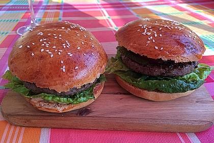 Brötchen für Hamburger
