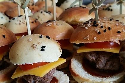 Brötchen für Hamburger 21
