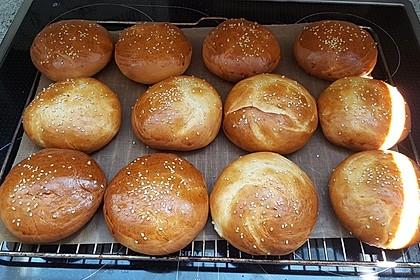 Brötchen für Hamburger 12