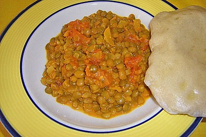 Rote Linsen - Curry 11