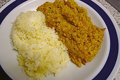 Rote Linsen - Curry 16