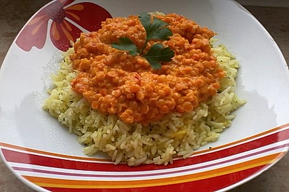 Rote Linsen - Curry 20