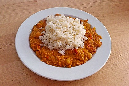 Rote Linsen - Curry 5
