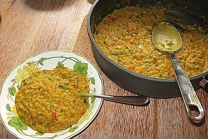 Rote Linsen - Curry 19