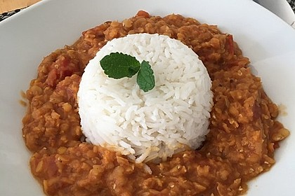 Rote Linsen - Curry 2