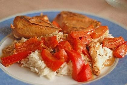 Hähnchen mit Reis 9