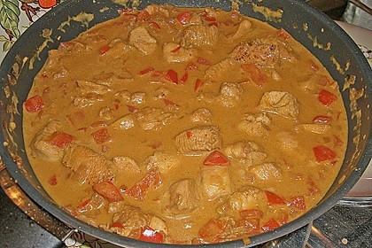 Hähnchen mit Reis 74
