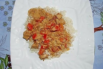 Hähnchen mit Reis 40