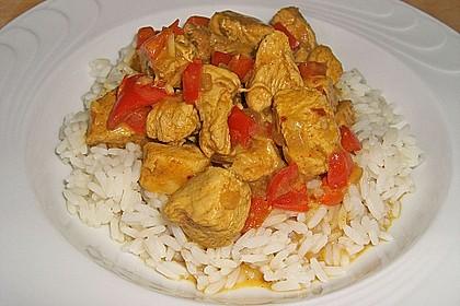 Hähnchen mit Reis 6