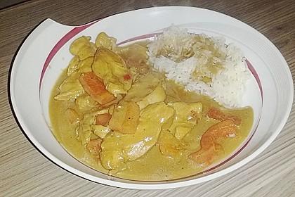 Hähnchen mit Reis 65