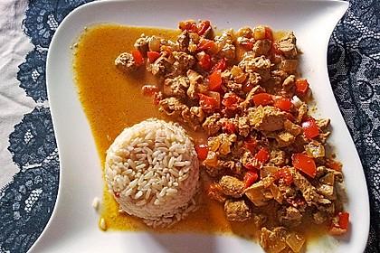 Hähnchen mit Reis 4
