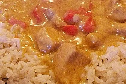 Hähnchen mit Reis 80