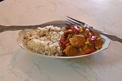 Hähnchen mit Reis 75