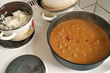 Hähnchen mit Reis 86