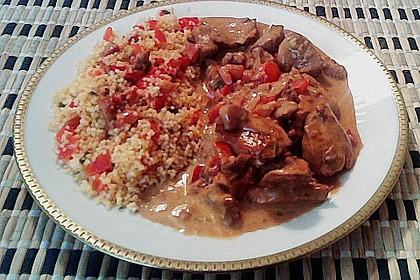 Hähnchen mit Reis 67