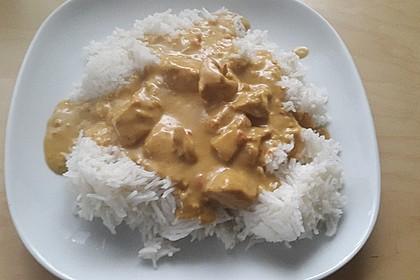 Hähnchen mit Reis 60
