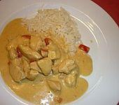 Hähnchen mit Reis