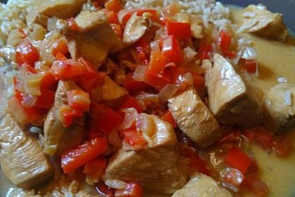 Hähnchen mit Reis 35