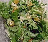 Gemischer Wintersalat mit Orangen (Bild)
