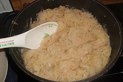Geschmortes Sauerkraut 5