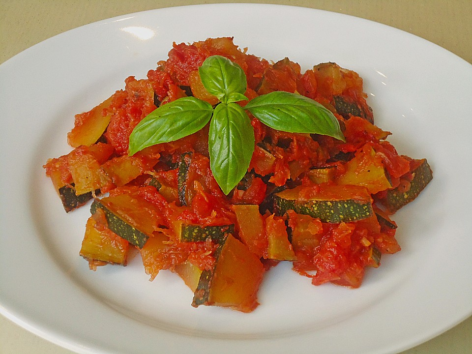 zucchini tomaten gem se rezept mit bild von mickyjenny. Black Bedroom Furniture Sets. Home Design Ideas