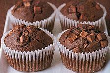 'low fat' Schoko Cupcakes mit leichtem Minzfrosting