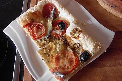 Französische Pizza 1