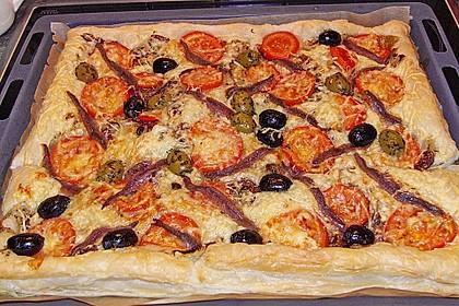 Französische Pizza