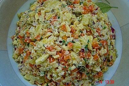 Gemüse - Kartoffel - Salat
