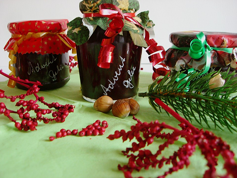 Advent - Gelee mit weihnachtlichem Geschmack von Kräuterjule ...