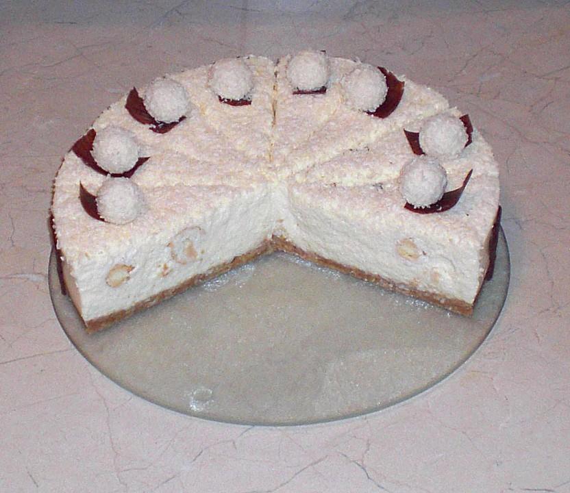 Raffaello torte rezept schnell