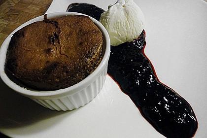 Schokoladenküchlein mit geschmolzenem Kern 14