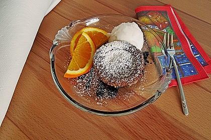 Schokoladenküchlein mit geschmolzenem Kern 7