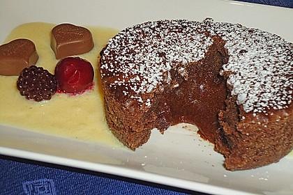 Schokoladenküchlein mit geschmolzenem Kern 5
