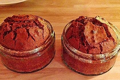 Schokoladenküchlein mit geschmolzenem Kern 8