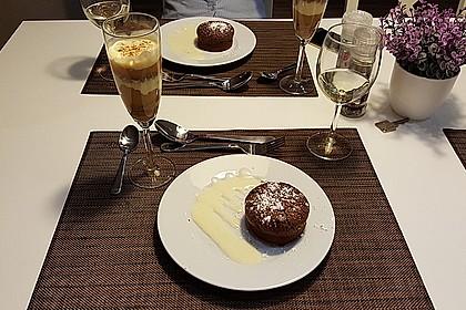 Schokoladenküchlein mit geschmolzenem Kern 6