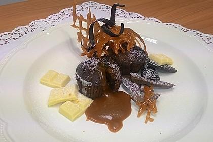 Schokoladenküchlein mit geschmolzenem Kern 1