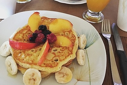 Amerikanische Pancakes 160