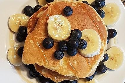 Amerikanische Pancakes 142