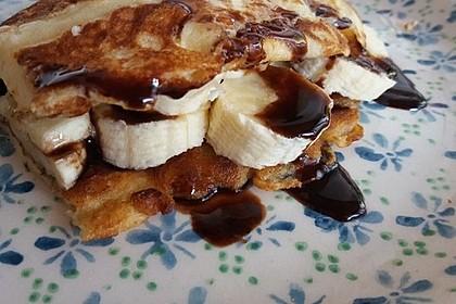 Amerikanische Pancakes 51